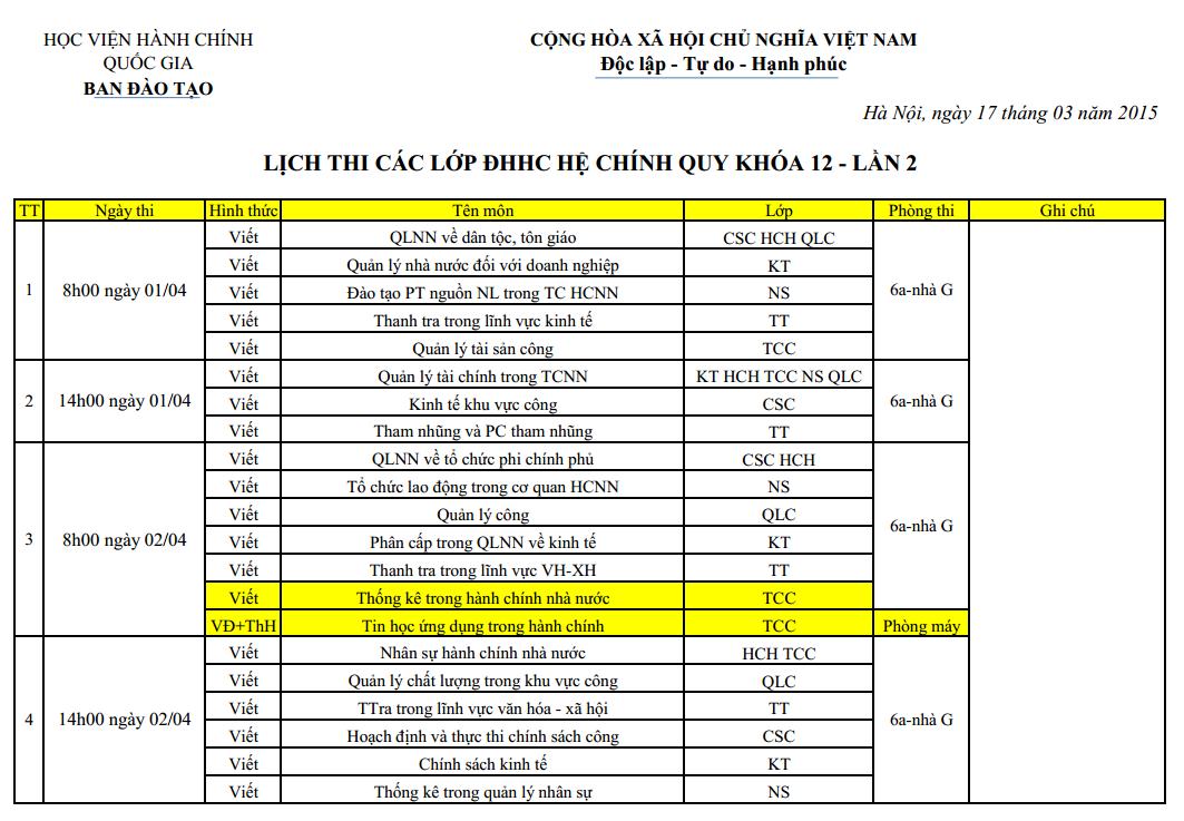 Lich thi lan 2 ky 1_2 nam hoc 2014-2015 khoa 12_1
