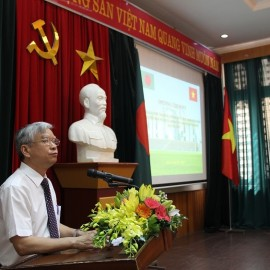Dr. Vu Thanh Xuan – NAPA Vice President delivering opening speech