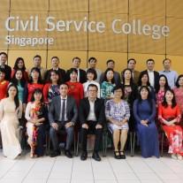 Memorial photo at Civil Service College