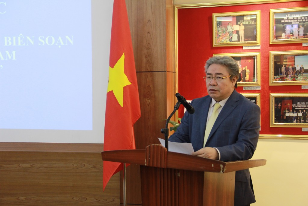 Dr. Dang Xuan Hoa, NAPA President delivering the opening speech.