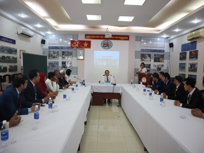The Closing Ceremony in NAPA branch campus in Ho Chi Minh City