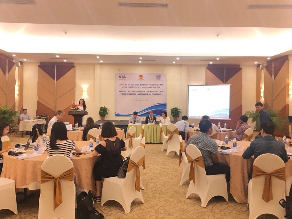 """Workshop """"Enhancing the quality of industrial polity in Vietnam"""" for policy makers"""