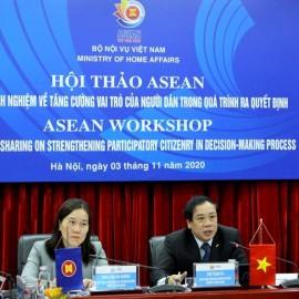 Mr. Chu Tuan Tu gave opening speech at the Workshop