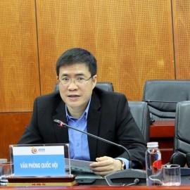 Mr. Hoang Minh Hieu presented at the Workshop