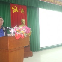 Mr. Phan Luong – Deputy Director, Department of Home Affairs of Thua Thien Hue province speaking at the ceremony