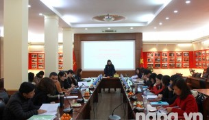 Assoc. Prof. Dr. Nguyen Thi Hong Hai speaking at the seminar
