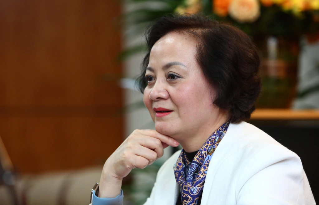 Minister of Home Affairs Pham Thi Thanh Tra.