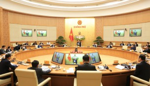 The meeting took place on March 10. Photo: Duc Huy