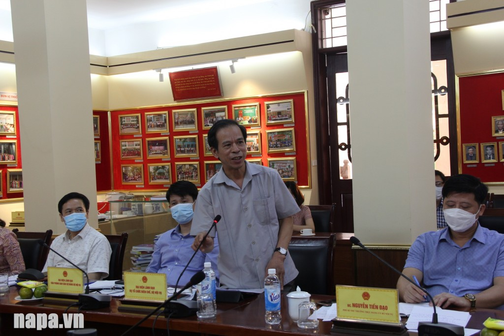 Mr. Nguyen Van Luong, Acting Director, Department of  Organization Apparatus and Staffing, MOHA