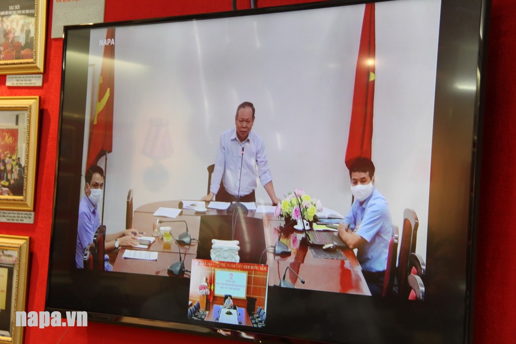 Dr. Ha Quang Thanh, Director General, NAPA Branch campus in Ho Chi Minh city