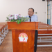Dr. Ha Quang Thanh, Director General, NAPA Branch Campus in Ho Chi Minh city speaking at the ceremony The opening ceremony took place in an exciting atmosphere and the first lecture was started afterwards as planned.