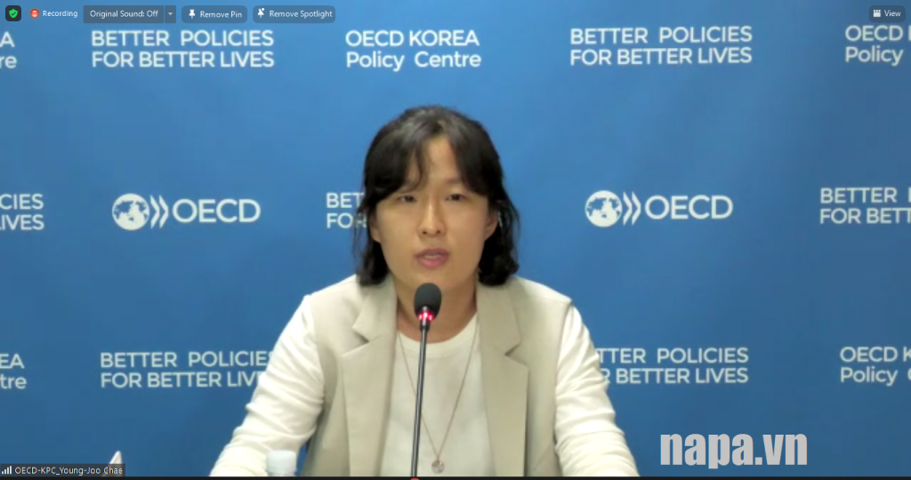 Ms. Hyunjeong Lee, Director General, Public Governance Programme, OECD Korea Policy Centre
