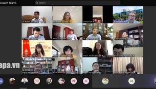 Virtual meeting Participants