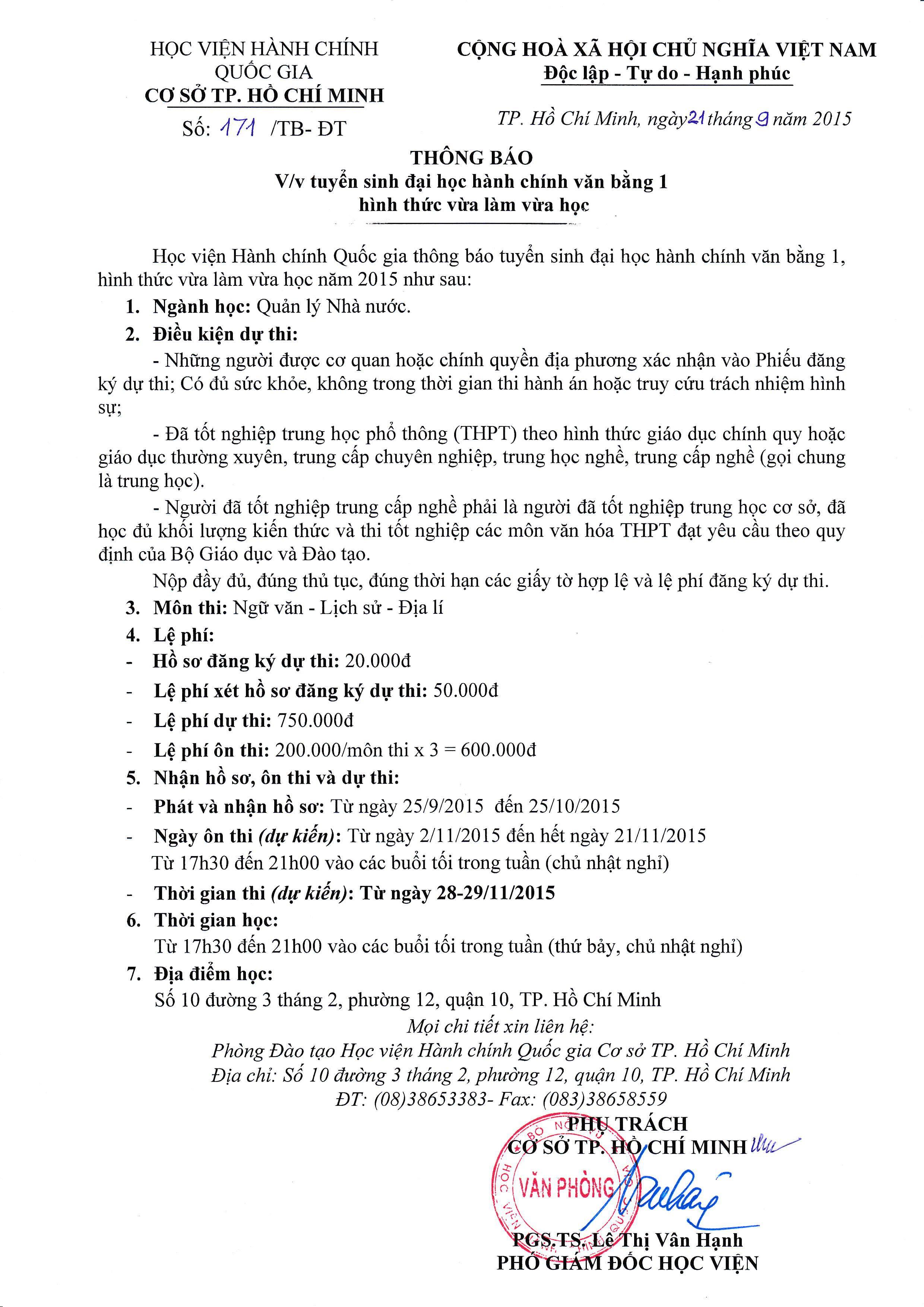 THONG BAO TUYEN SINH VLVH 2015_1