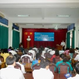 Bế giảng Lớp bồi dưỡng cấp Sở khóa II 2017 _ 1