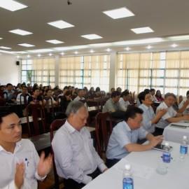 Giám đốc HVHCQG gặp CB,NV,NLĐ cơ sở TPHCM _ 1