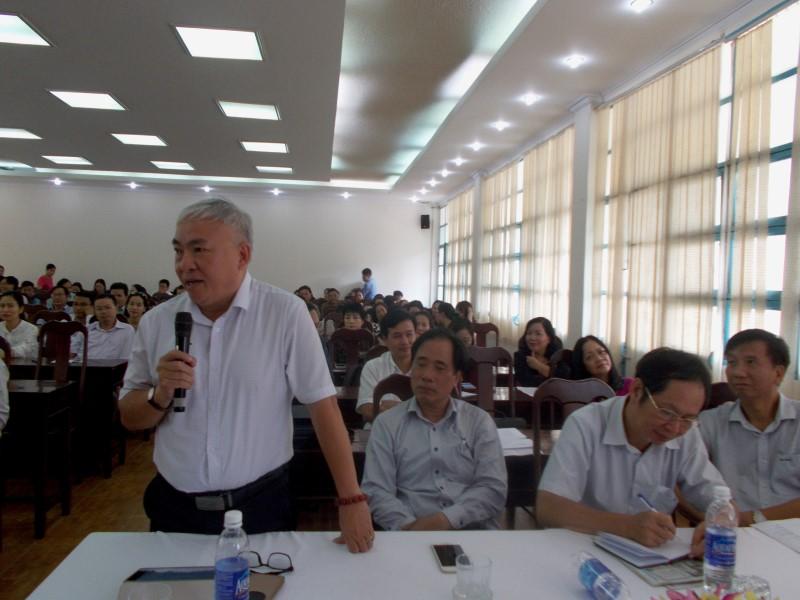 Giám đốc HVHCQG gặp CB,NV,NLĐ cơ sở TPHCM _ 10