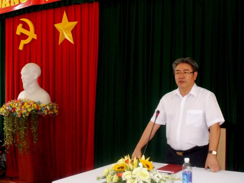Giám đốc HVHCQG gặp CB,NV,NLĐ cơ sở TPHCM _ 3