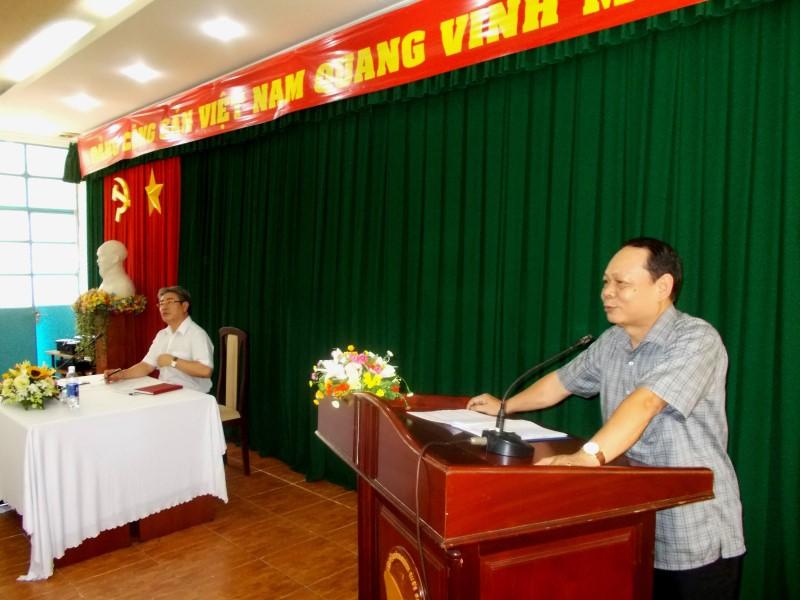 Giám đốc HVHCQG gặp CB,NV,NLĐ cơ sở TPHCM _ 4