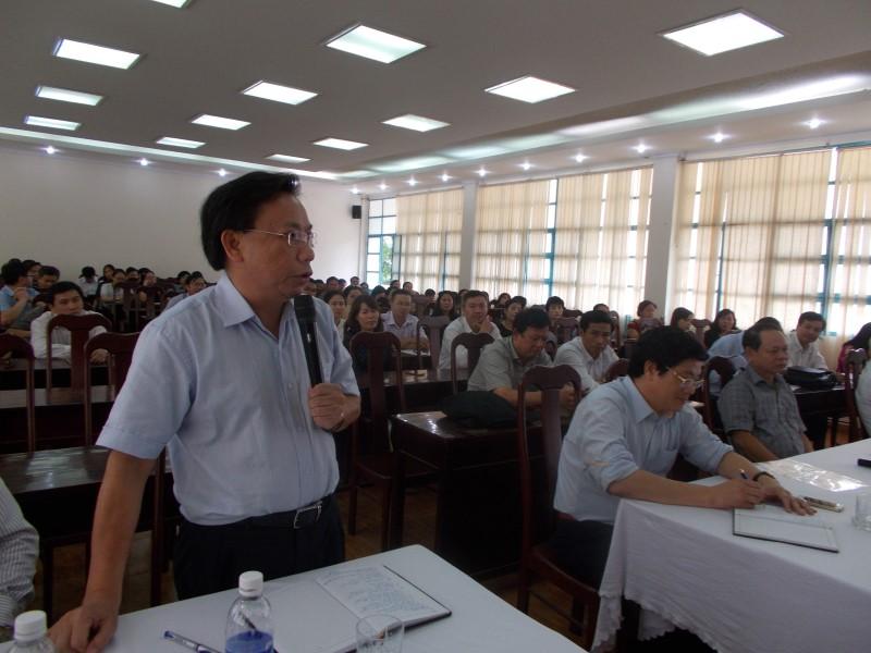 Giám đốc HVHCQG gặp CB,NV,NLĐ cơ sở TPHCM _ 5