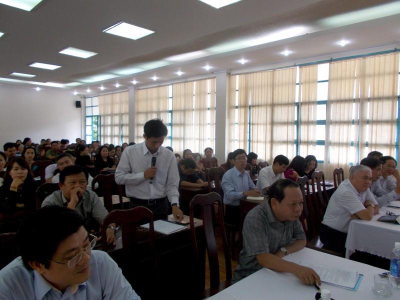 Giám đốc HVHCQG gặp CB,NV,NLĐ cơ sở TPHCM _ 6