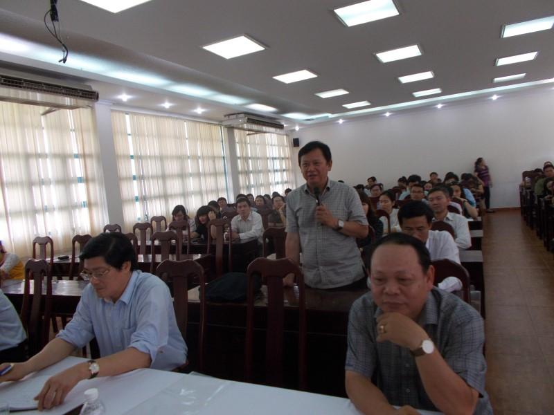 Giám đốc HVHCQG gặp CB,NV,NLĐ cơ sở TPHCM _ 8
