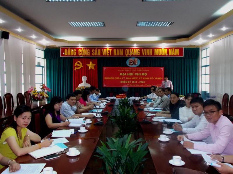 Đại hội nhiệm kỳ 2017 2020 các Chi Bộ cơ sở TPHCM _ 4