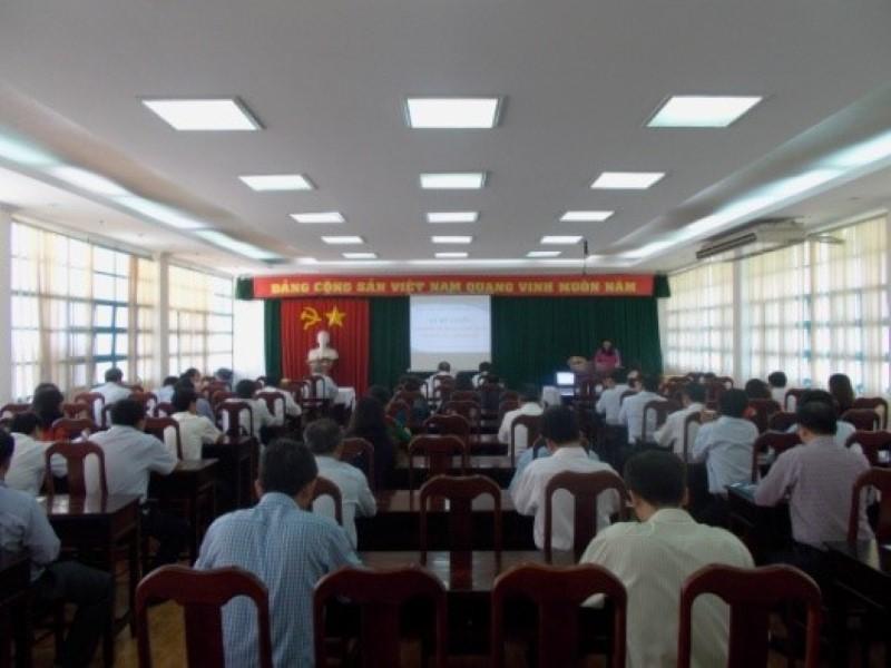 Bế giảng Lớp BDNLKNLD cap Huyện _ 1