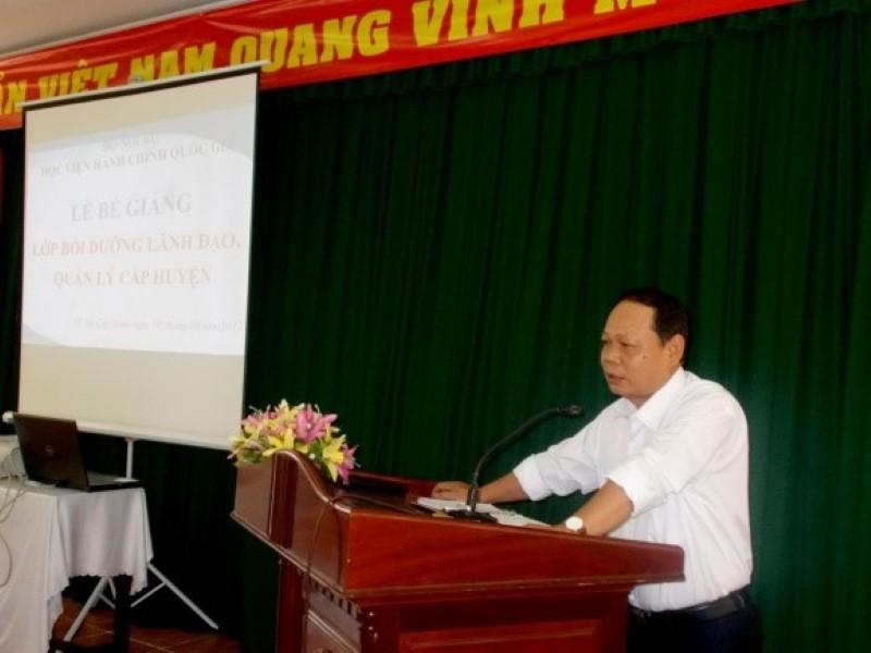 Bế giảng Lớp BDNLKNLD cap Huyện _ 4