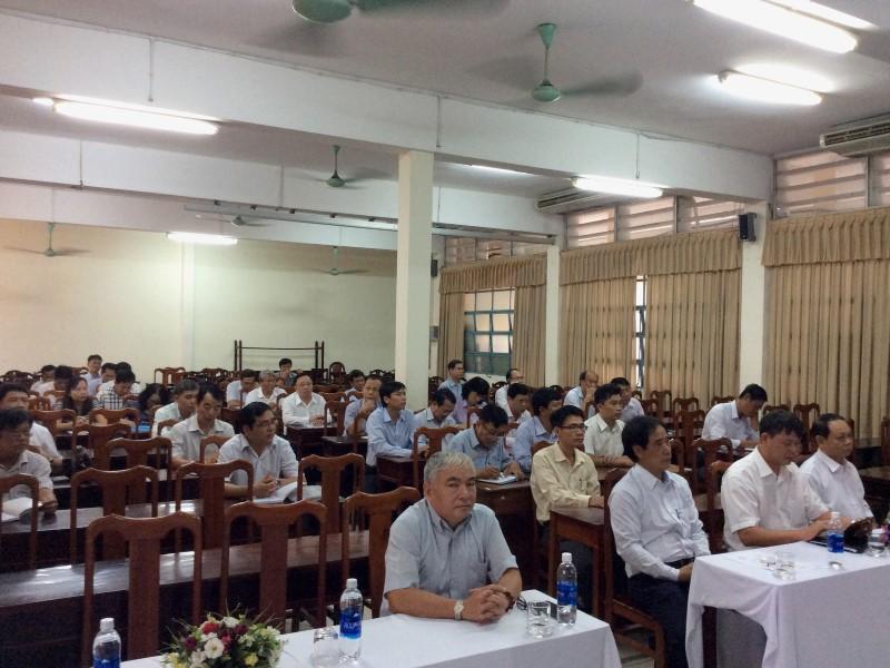 Khai giảng Lớp BDNLKNLD cap Sở IV 2017 _ 2