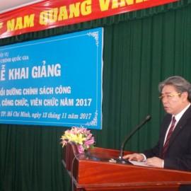 Khai giảng lớp bồi dưỡng lop Chinh sach Cong 2017 _ 2