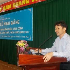 Khai giảng lớp bồi dưỡng lop Chinh sach Cong 2017 _ 3