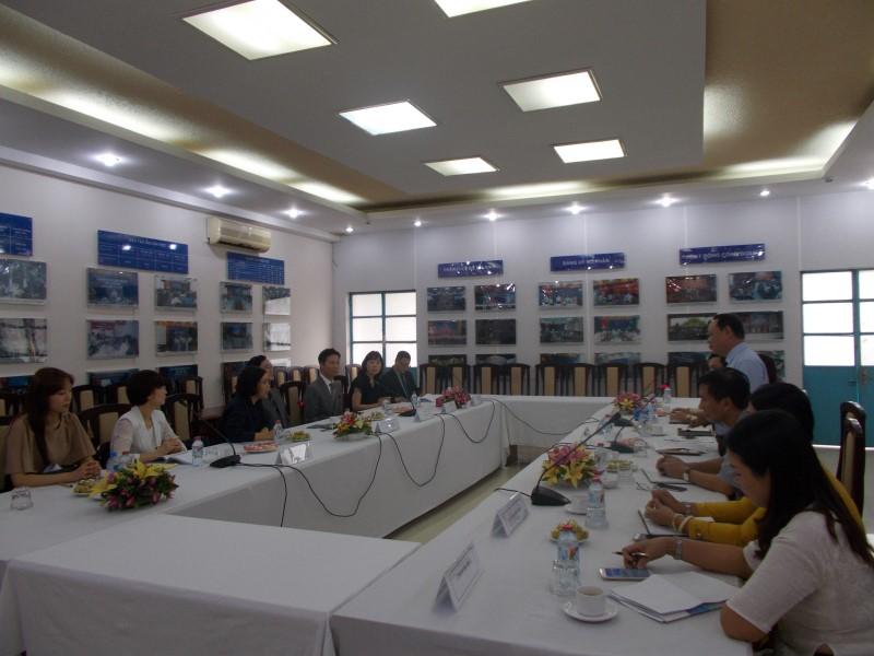 Đoàn chuyên gia Viện Phát triển Nguồn nhân lực Quốc gia Hàn Quốc _ 1