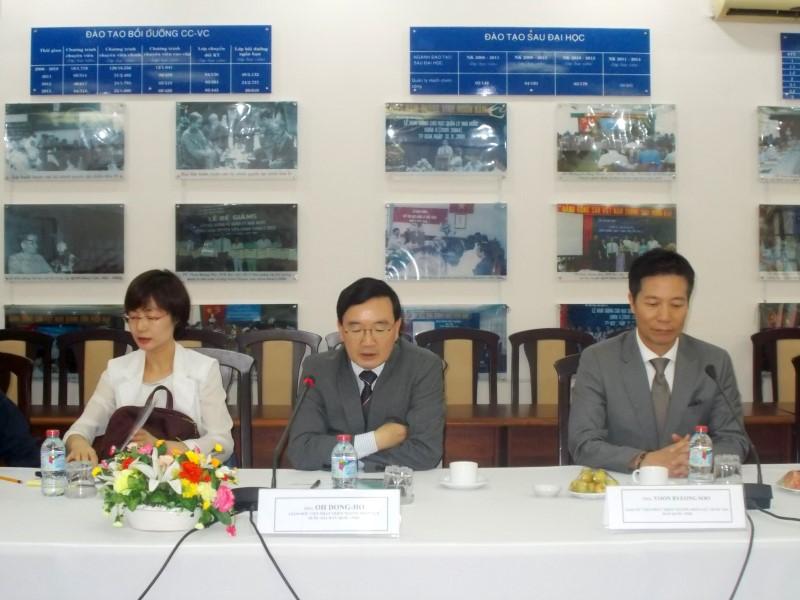 Đoàn chuyên gia Viện Phát triển Nguồn nhân lực Quốc gia Hàn Quốc _ 5