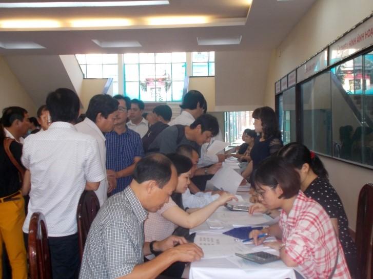 Hoàn thành tổ chức thi nâng ngạch 2017 _ 6