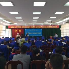 Lễ bế giảng và trao bằng Thạc sỹ năm 2017 _ 1