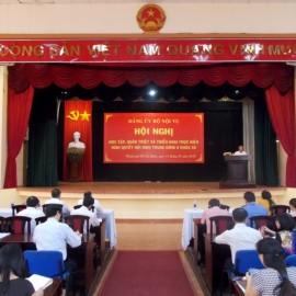 Hội nghị học tập Nghị quyết _ 1