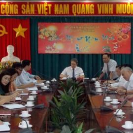 Giám đốc HVHCQG họp giao ban T1 NAM 2018 _ 1
