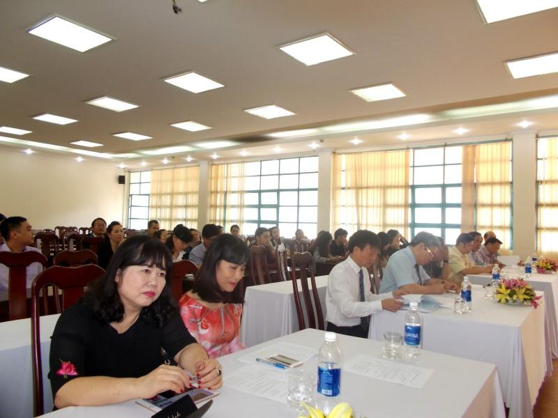 Khai giảng Đào tạo trình độ Thạc sỹ đợt II năm 2017 _ 2