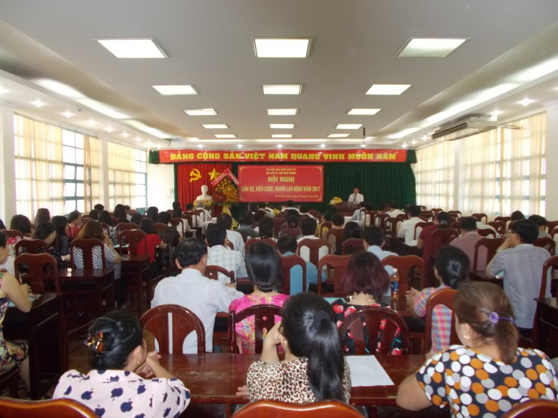 Hội nghị CBCCNLD 2017 _ 1