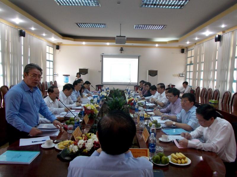 Đồng chí Lê Vĩnh Tân, Ủy viên Ban Chấp hành Trung ương Đảng, Bộ trưởng Bộ Nội vụ làm việc với Học viện Hành chính Quốc gia và Trường Đại học Nội vụ _ 4