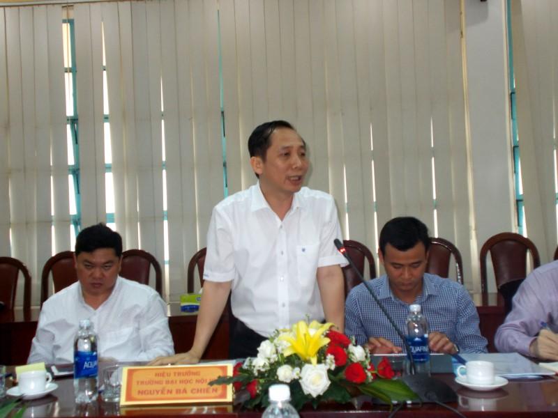 Đồng chí Lê Vĩnh Tân, Ủy viên Ban Chấp hành Trung ương Đảng, Bộ trưởng Bộ Nội vụ làm việc với Học viện Hành chính Quốc gia và Trường Đại học Nội vụ _ 5