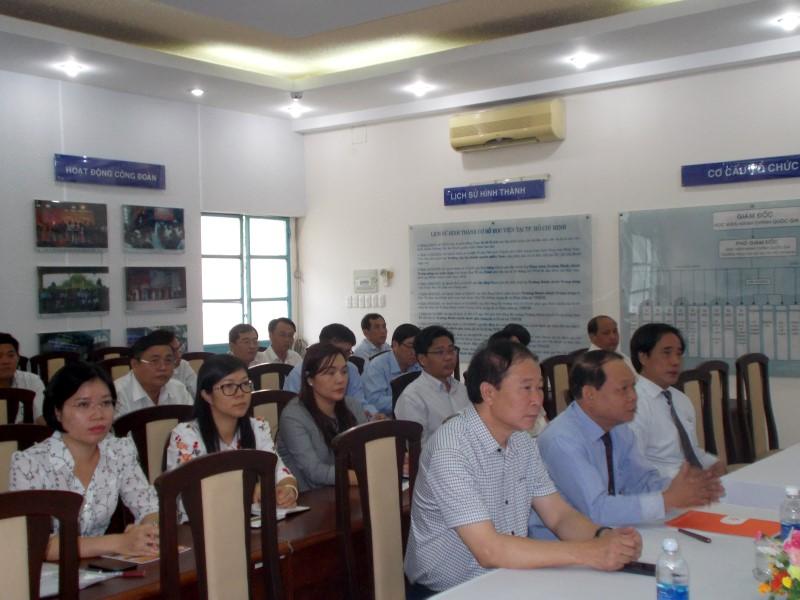 Khai giảng lớp bồi dưỡng lãnh đạo, quản lý cấp huyện khóa I năm 2018 _2
