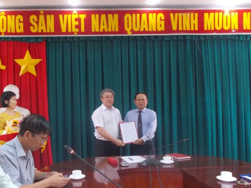 Lễ công bố QĐ bổ nhiệm PGĐ Phân viện TPHCM _ 2