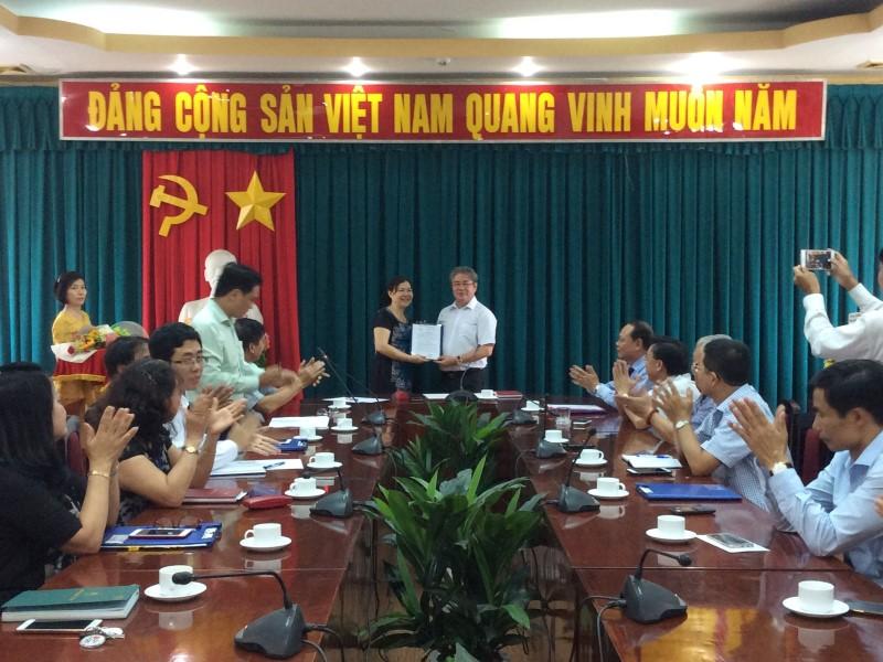 Lễ công bố QĐ bổ nhiệm PGĐ Phân viện TPHCM _ 6