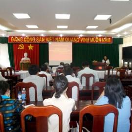 khai giảng Lớp bồi dưỡng năng lực, kỹ năng lãnh đạo _ 1