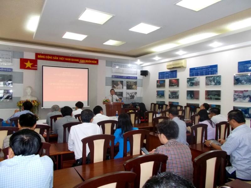 khai giảng lớp bồi dưỡng lãnh đạo, quản lý cấp huyện khóa II _ 1
