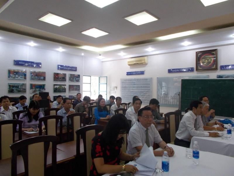 khai giảng lớp bồi dưỡng lãnh đạo, quản lý cấp huyện khóa II _ 2