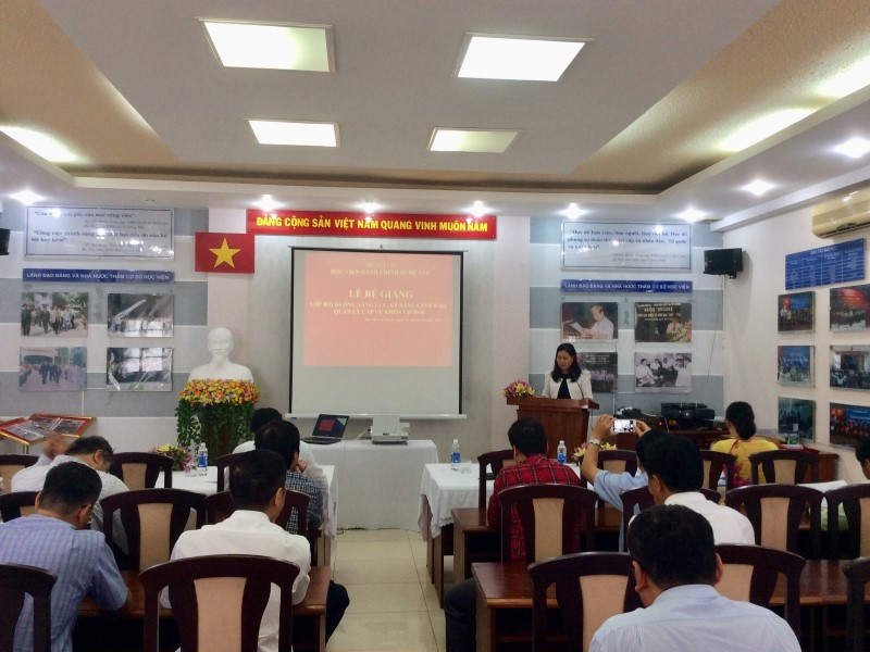 Bế giảng Lớp bồi dưỡng cấp Vu khoa II - 2018 _ 1