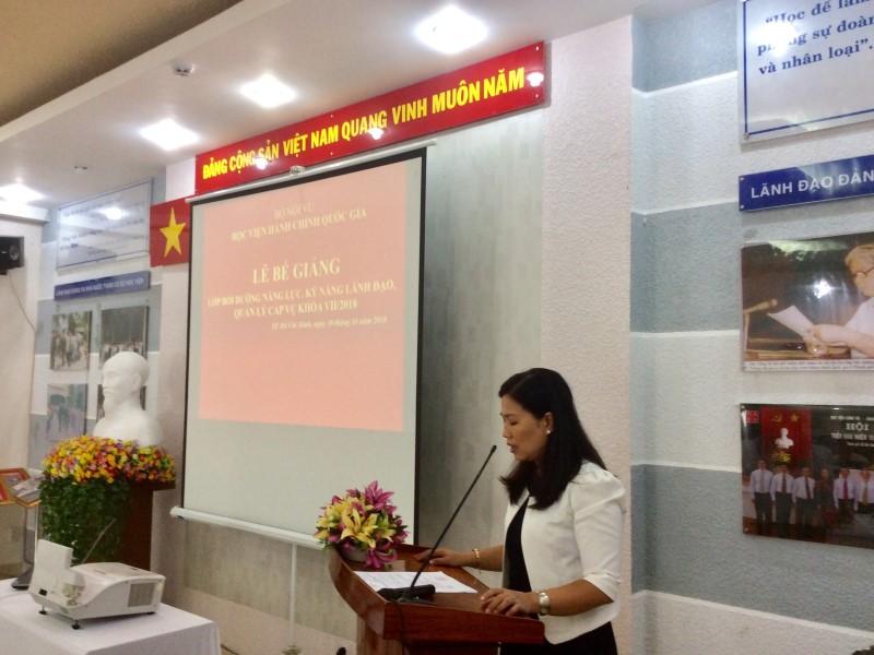 Bế giảng Lớp bồi dưỡng cấp Vu khoa II - 2018 _ 3